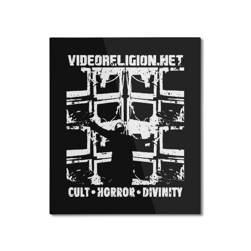 The Tube Altar Home Mounted Aluminum Print by VideoReligion's Shop