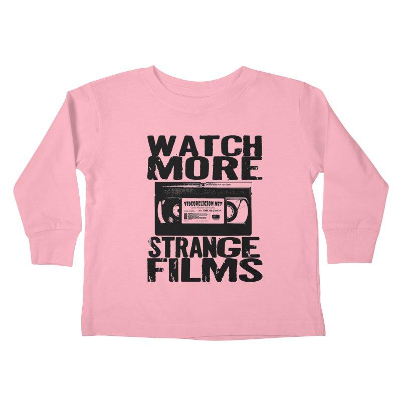 Sage Advice v2: Strange Kids Toddler Longsleeve T-Shirt by VideoReligion's Shop