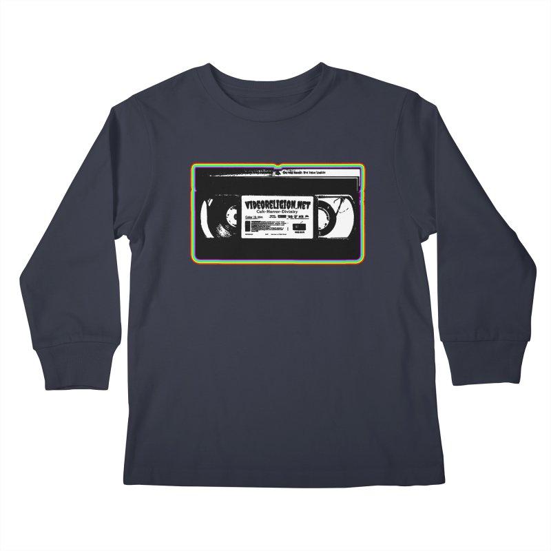 Divine Magnets Bright Kids Longsleeve T-Shirt by VideoReligion's Shop