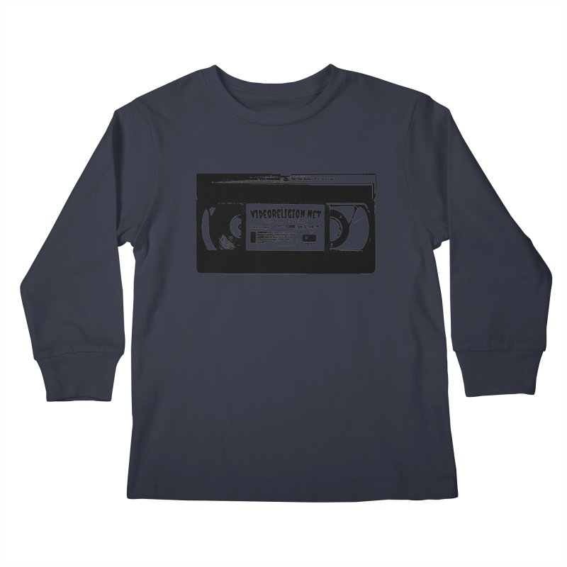Divine Magnets Clear Kids Longsleeve T-Shirt by VideoReligion's Shop