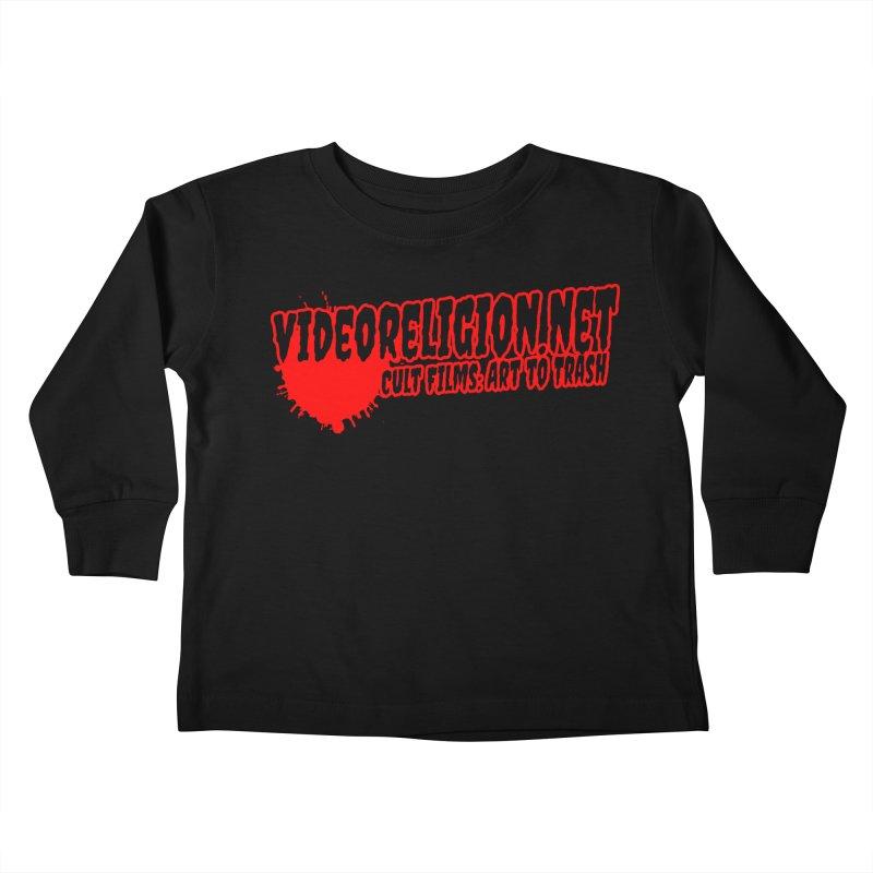 BloodCult Kids Toddler Longsleeve T-Shirt by VideoReligion's Shop