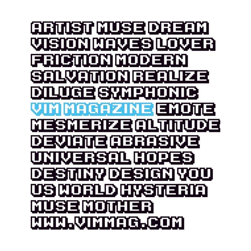 VIM Words 2019 T-Shirt by Vim's Artist Shop
