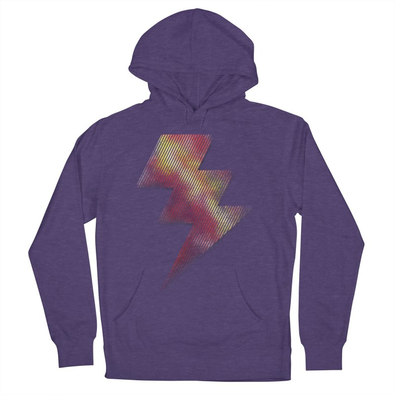 Fire Bolt I Men's Pullover Hoody by Vince N2