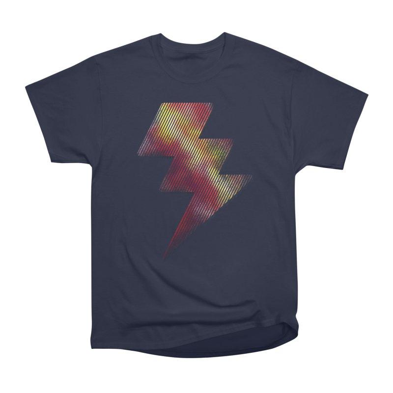 Fire Bolt I Women's Heavyweight Unisex T-Shirt by Vince N2
