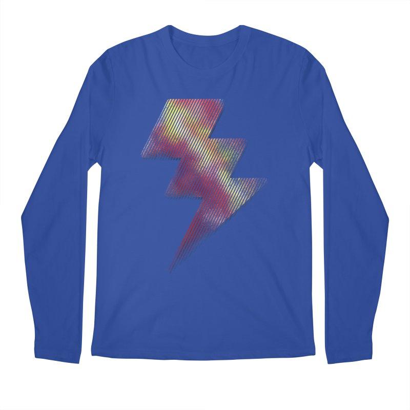 Fire Bolt I Men's Longsleeve T-Shirt by Vince N2