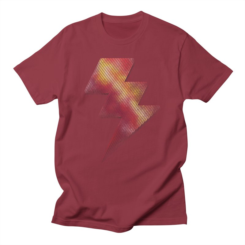Fire Bolt I Women's Unisex T-Shirt by Vince N2