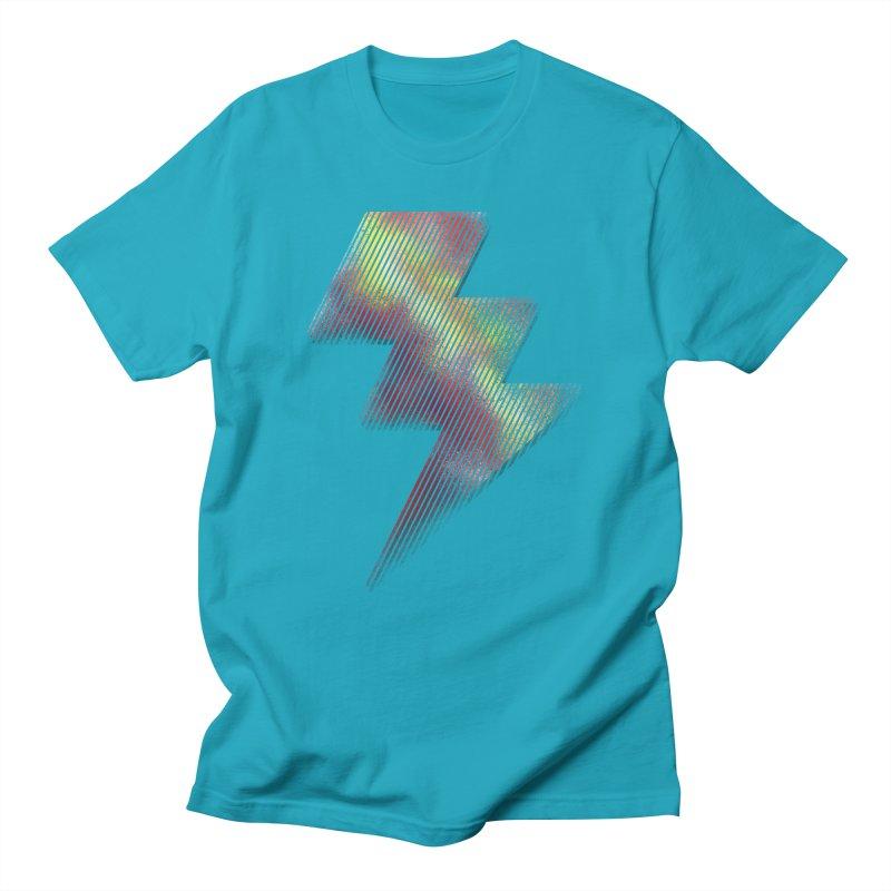 Fire Bolt I Men's T-Shirt by Vince N2