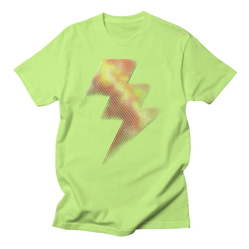 Fire Bolt I Men's T-shirt by Vince N2