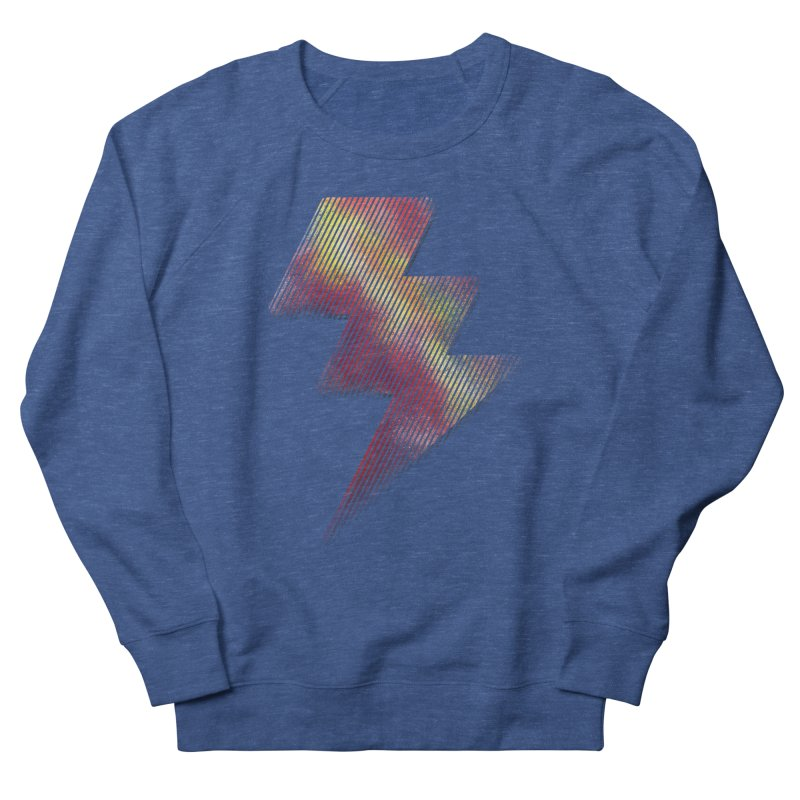 Fire Bolt I Men's Sweatshirt by Vince N2
