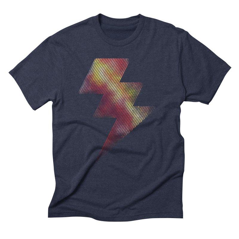 Fire Bolt I Men's Triblend T-shirt by Vince N2