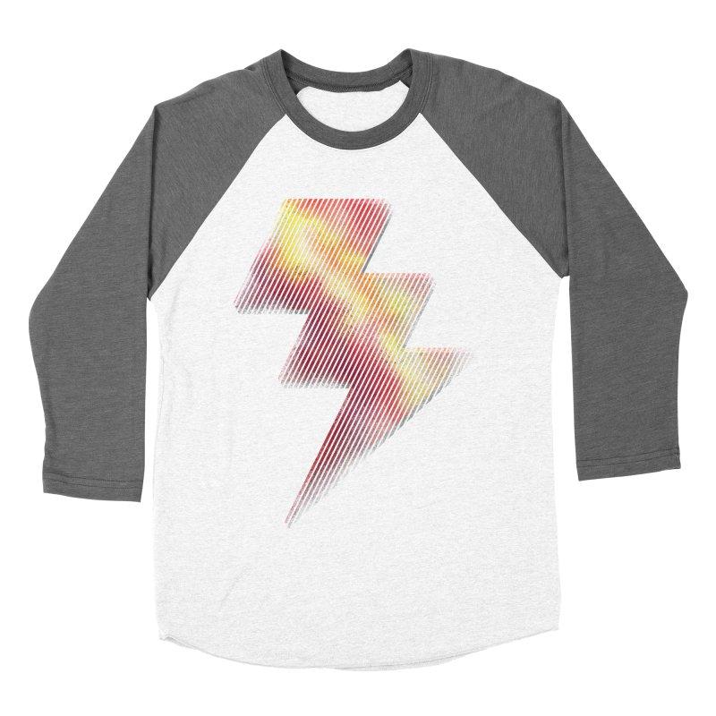 Fire Bolt I Women's Baseball Triblend T-Shirt by Vince N2