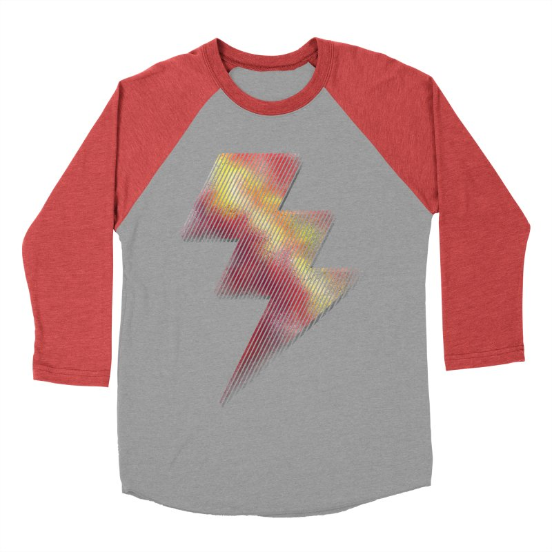 Fire Bolt I Women's Baseball Triblend T-Shirt by Vince N2