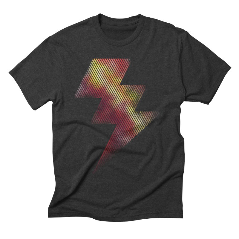 Fire Bolt I Men's Triblend T-shirt by Vince N2
