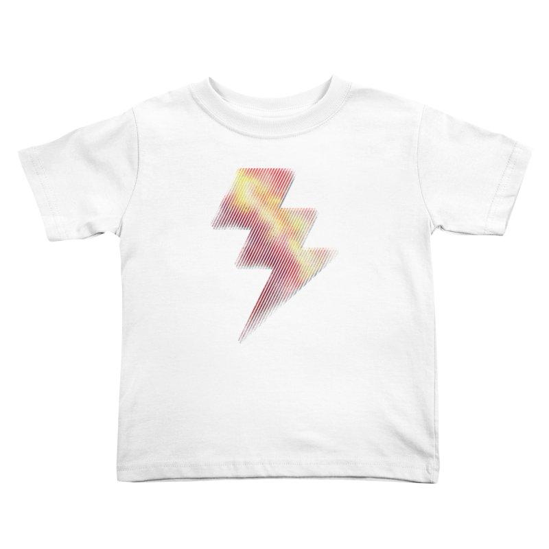 Fire Bolt I Kids Toddler T-Shirt by Vince N2