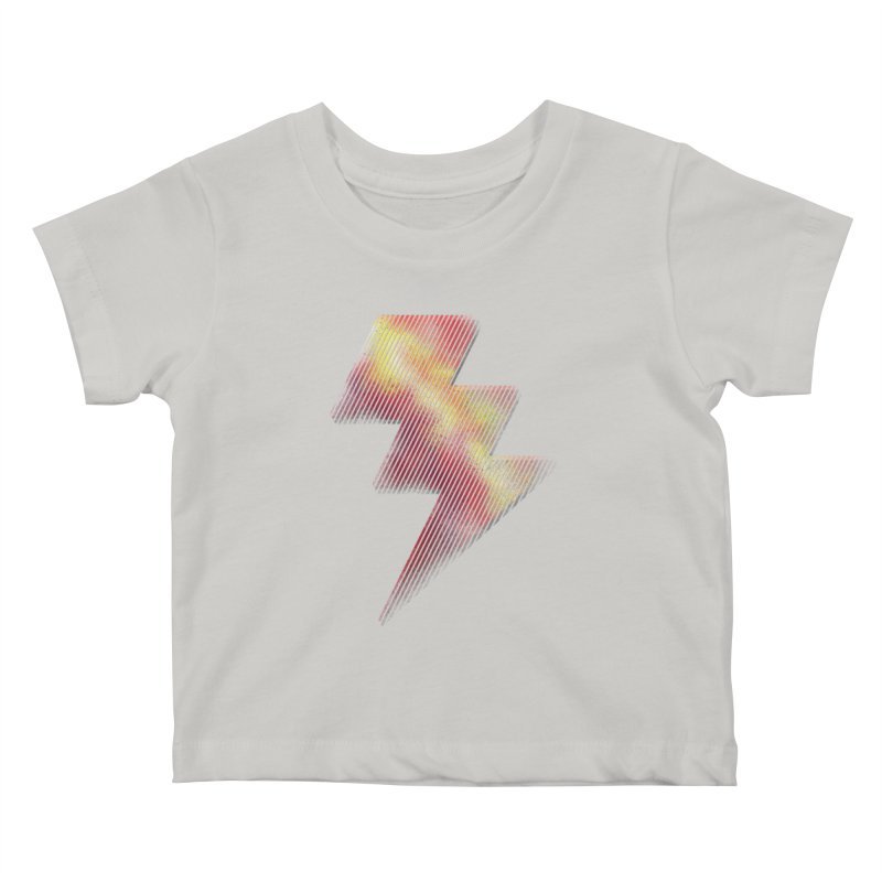 Fire Bolt I Kids Baby T-Shirt by Vince N2