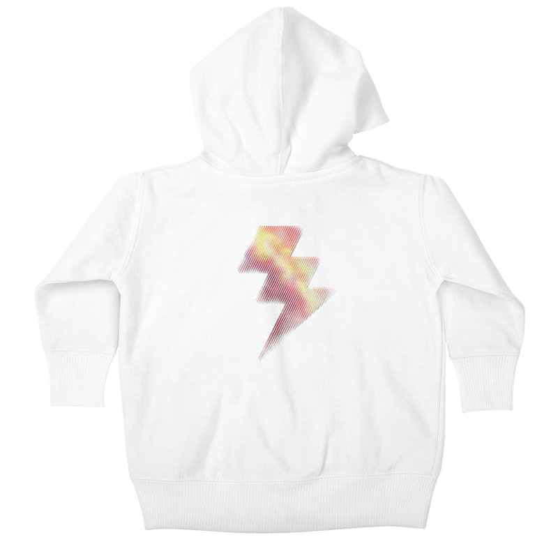 Fire Bolt I Kids Baby Zip-Up Hoody by Vince N2