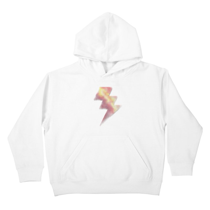 Fire Bolt I Kids Pullover Hoody by Vince N2