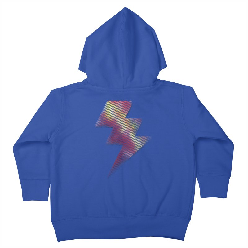 Fire Bolt I Kids Toddler Zip-Up Hoody by Vince N2