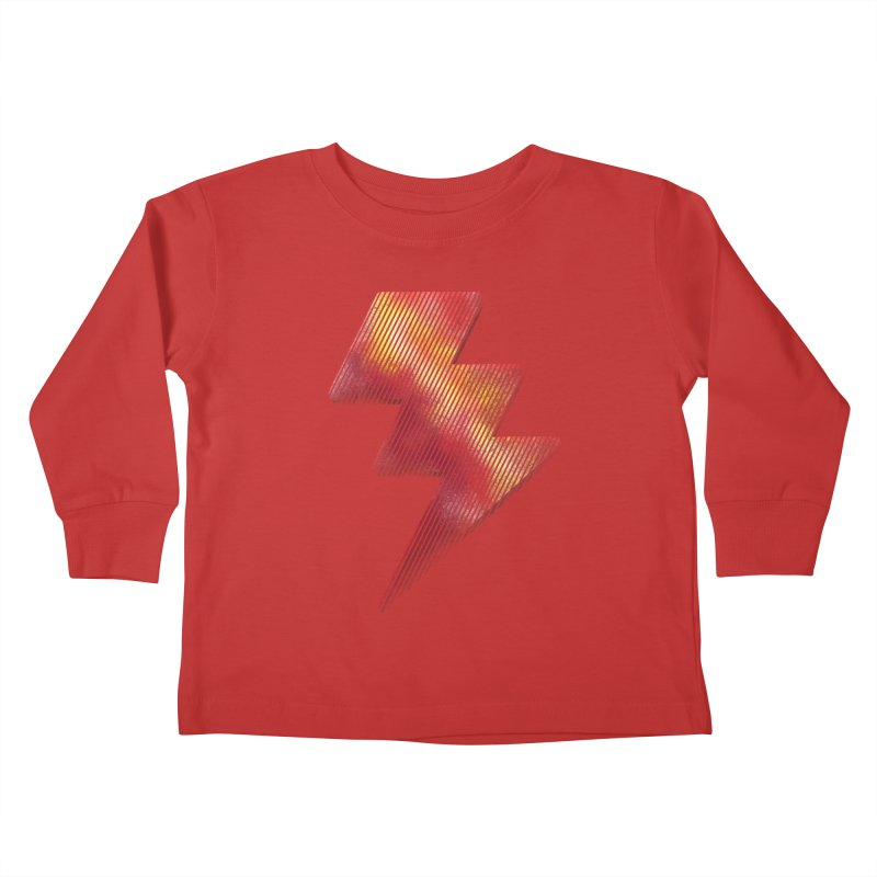 Fire Bolt I Kids Toddler Longsleeve T-Shirt by Vince N2