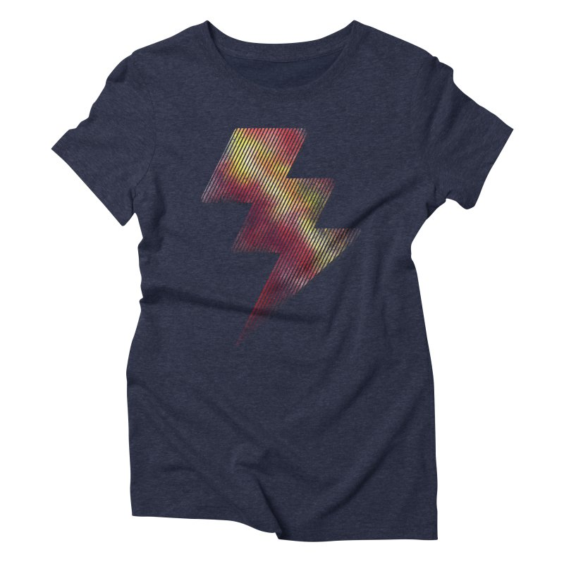 Fire Bolt I Women's Triblend T-shirt by Vince N2