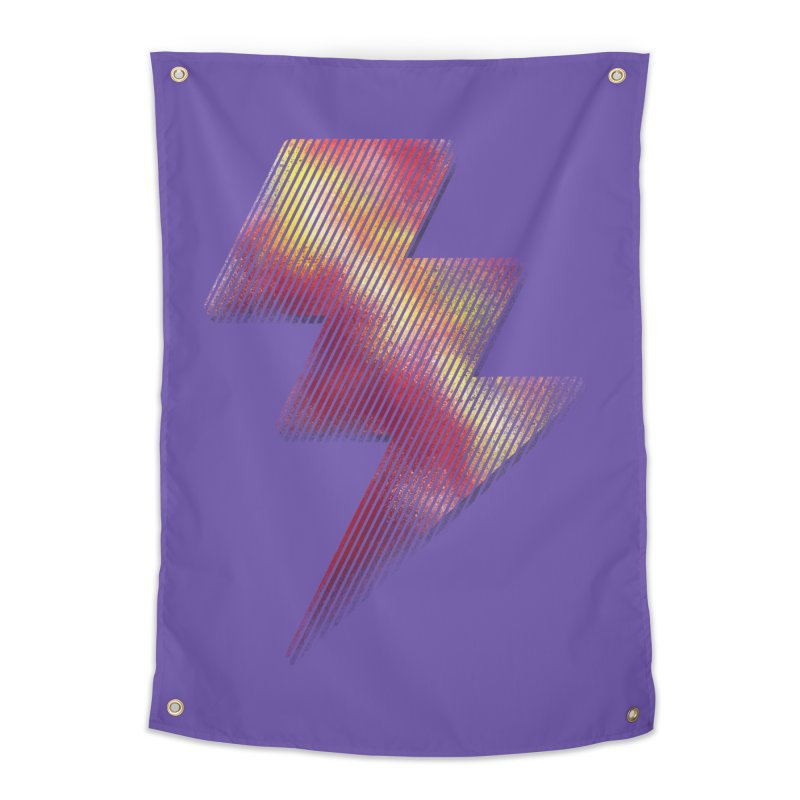 Fire Bolt I Home Tapestry by Vince N2