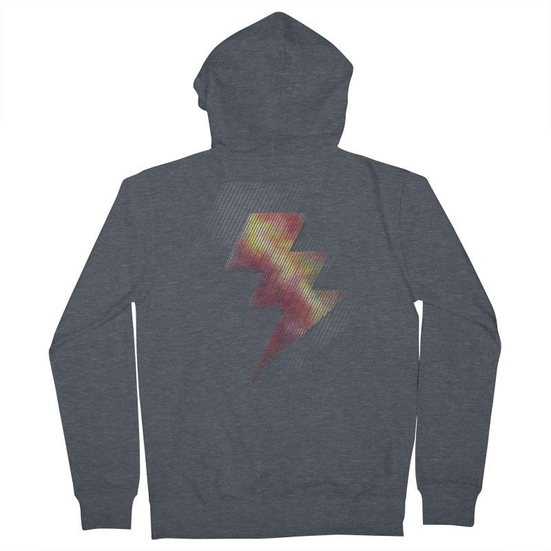 Fire Bolt II Men's Zip-Up Hoody by Vince N2