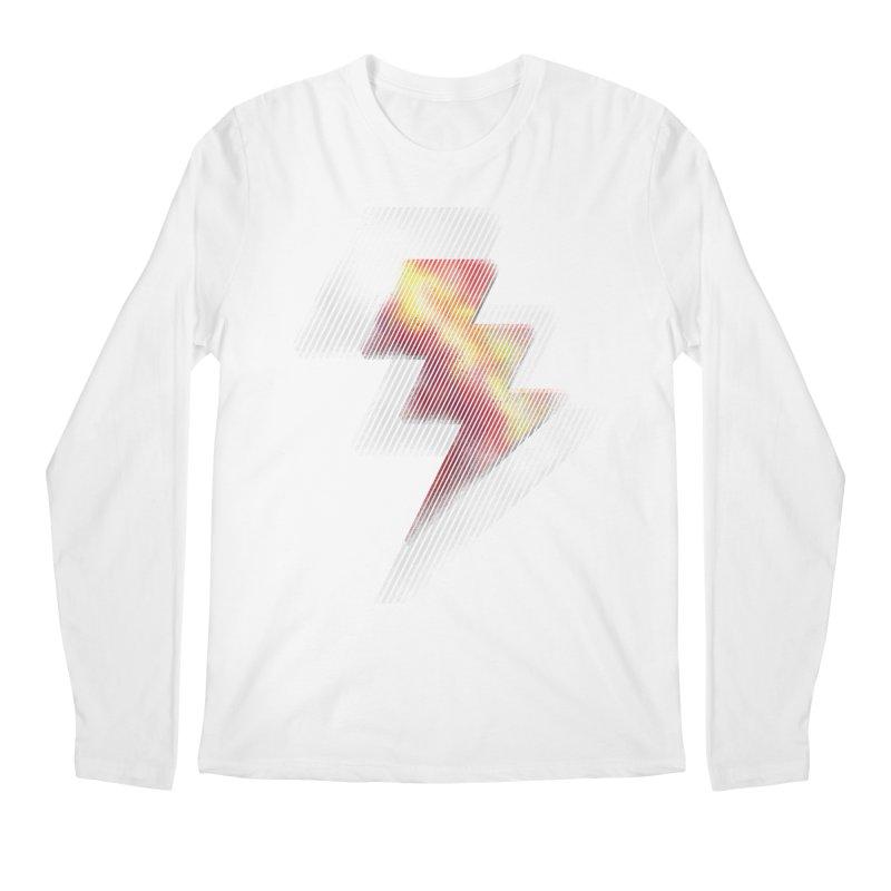 Fire Bolt II Men's Longsleeve T-Shirt by Vince N2