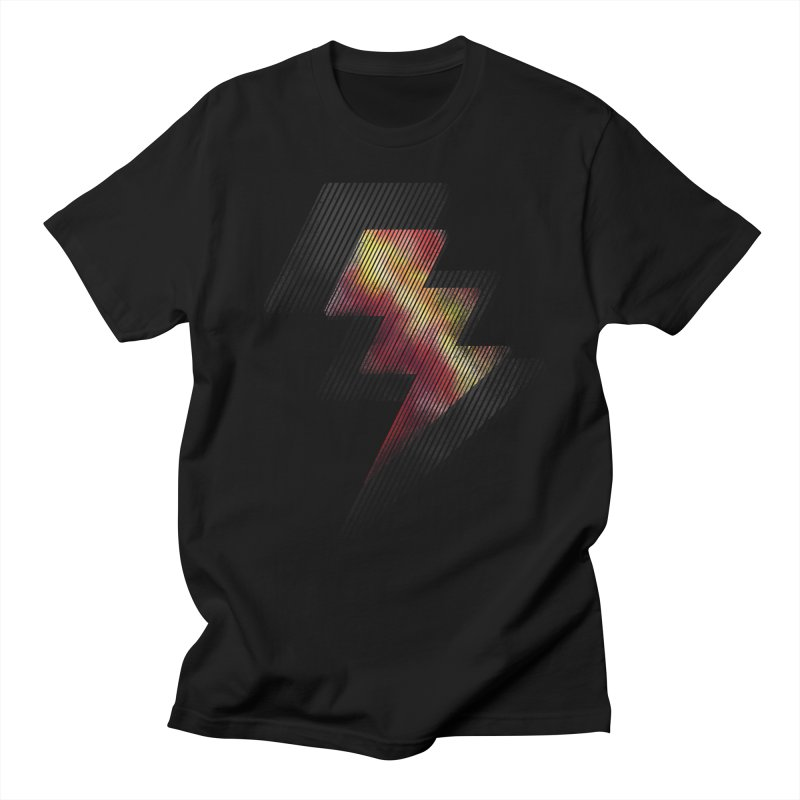 Fire Bolt II Men's T-shirt by Vince N2