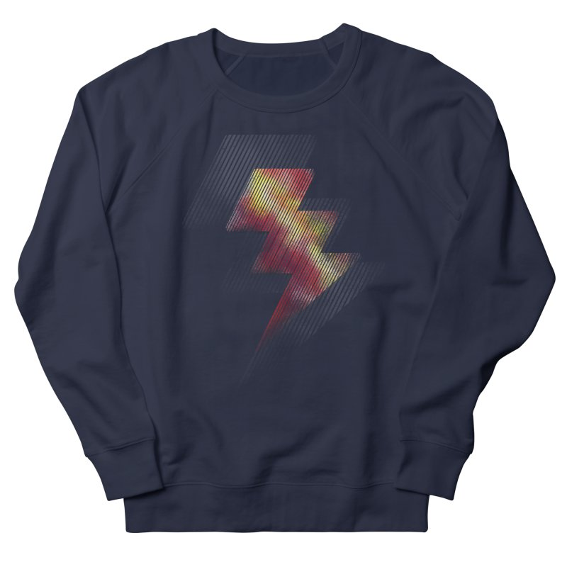 Fire Bolt II Men's Sweatshirt by Vince N2