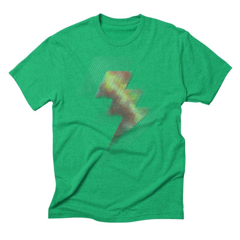 Fire Bolt II Men's Triblend T-shirt by Vince N2