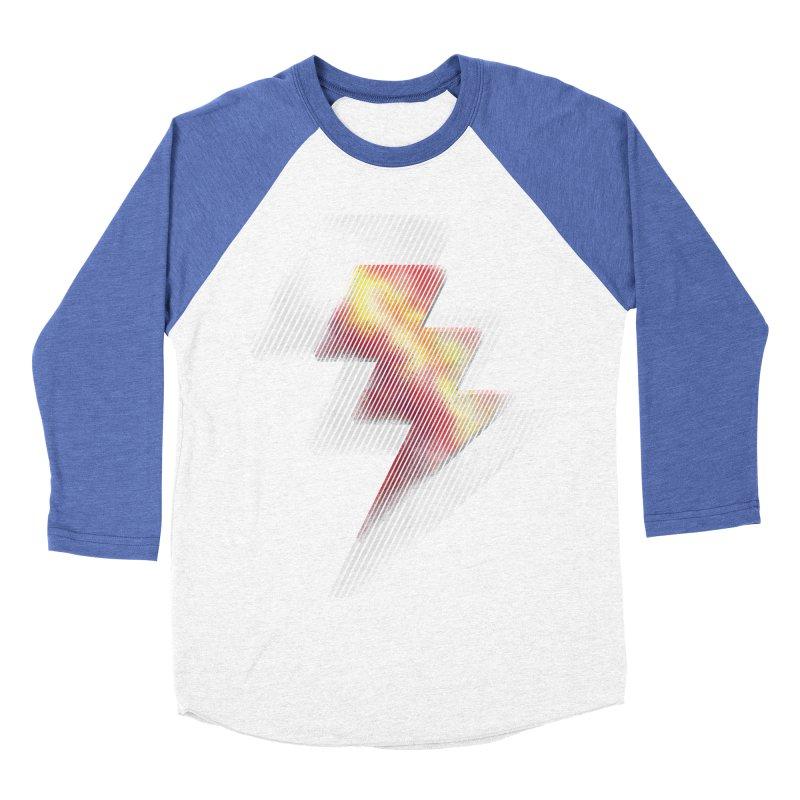 Fire Bolt II Men's Baseball Triblend T-Shirt by Vince N2