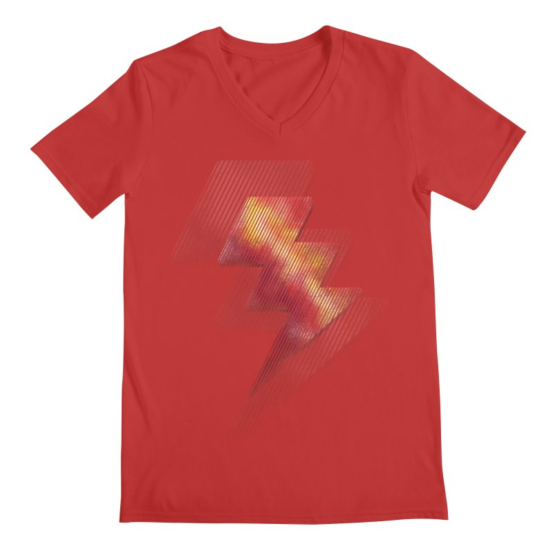 Fire Bolt II Men's V-Neck by Vince N2