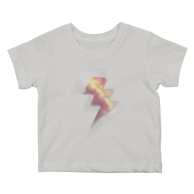 Fire Bolt II Kids Baby T-Shirt by Vince N2