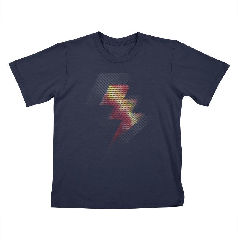 Fire Bolt II Kids T-shirt by Vince N2