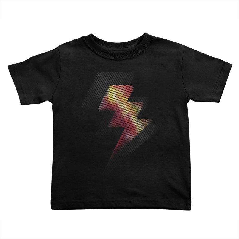 Fire Bolt II Kids Toddler T-Shirt by Vince N2
