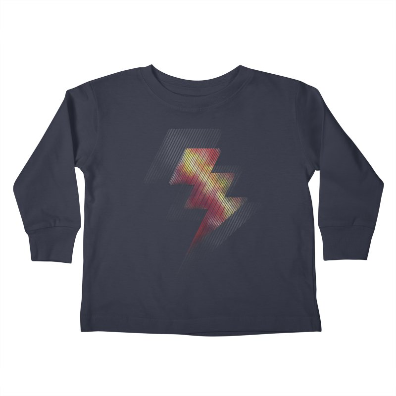 Fire Bolt II Kids Toddler Longsleeve T-Shirt by Vince N2