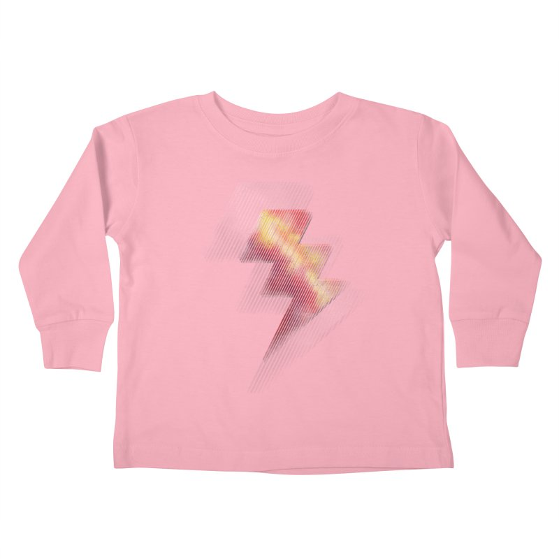 Fire Bolt II Kids Toddler Longsleeve T-Shirt by Vince N2