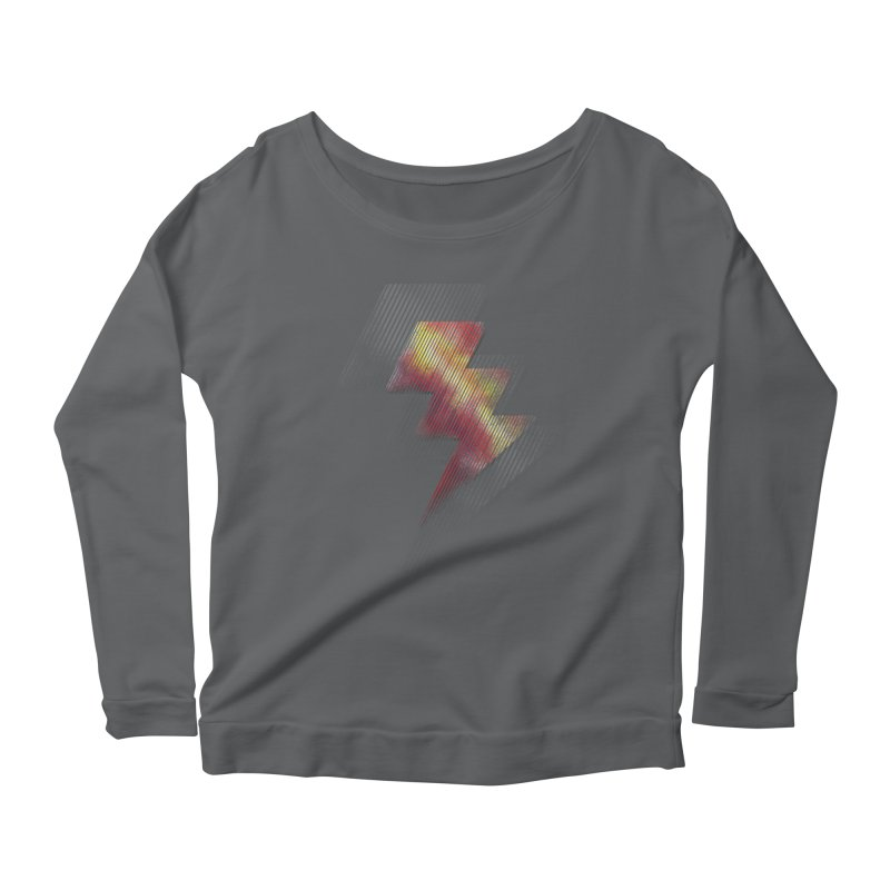 Fire Bolt II Women's Longsleeve Scoopneck  by Vince N2