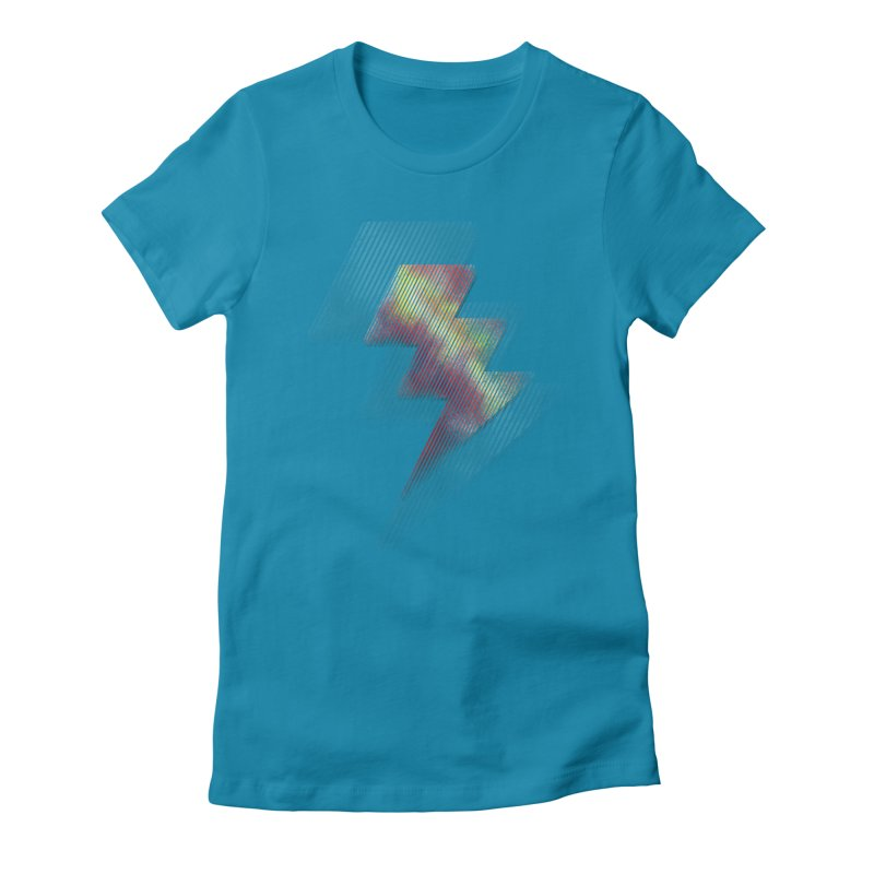 Fire Bolt II Women's Fitted T-Shirt by Vince N2