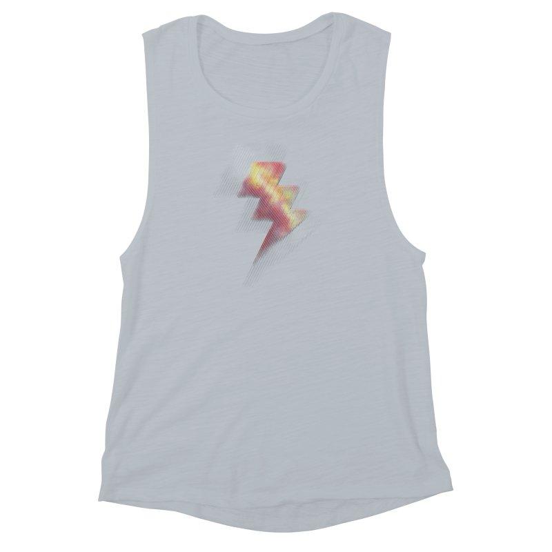 Fire Bolt II Women's Muscle Tank by Vince N2