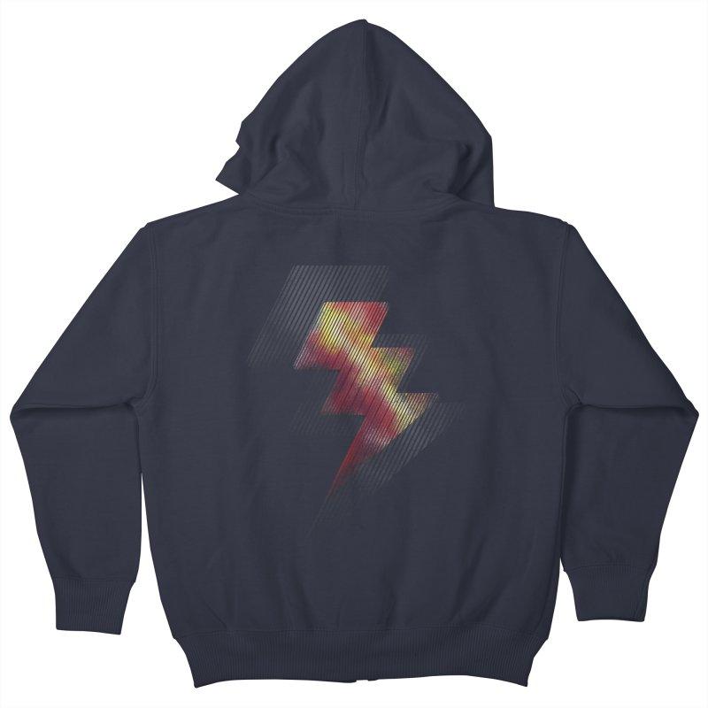 Fire Bolt II Kids Zip-Up Hoody by Vince N2