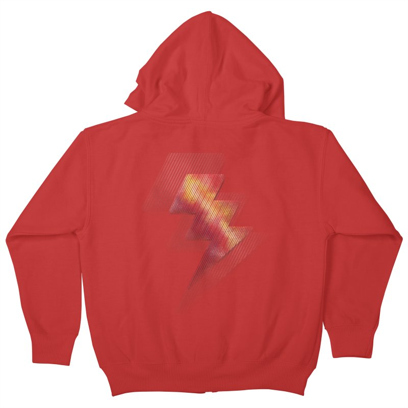 Fire Bolt II Kids Zip-Up Hoody by Vince N2