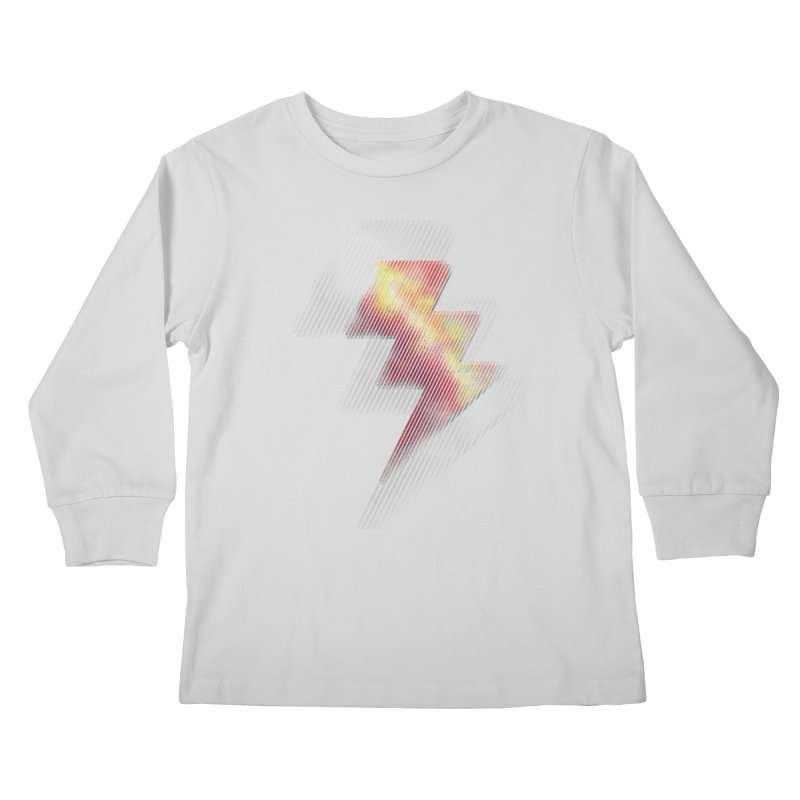 Fire Bolt II Kids Longsleeve T-Shirt by Vince N2
