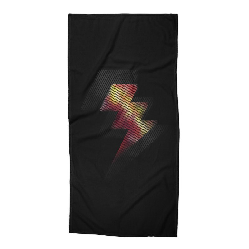 Fire Bolt II Accessories Beach Towel by Vince N2