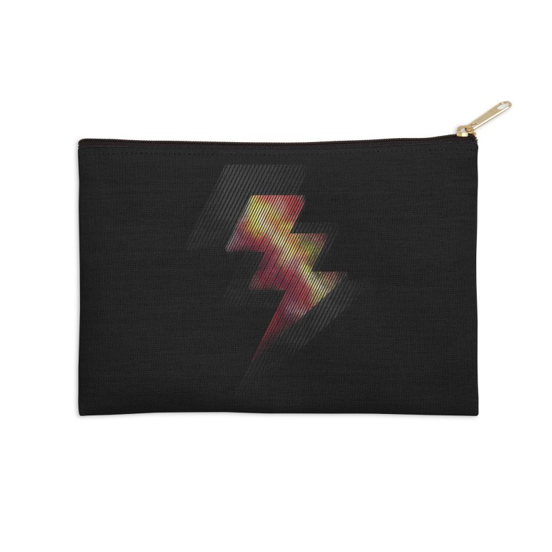 Fire Bolt II Accessories Zip Pouch by Vince N2