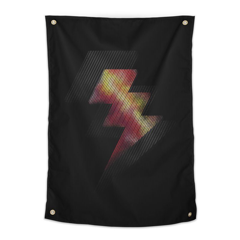 Fire Bolt II Home Tapestry by Vince N2
