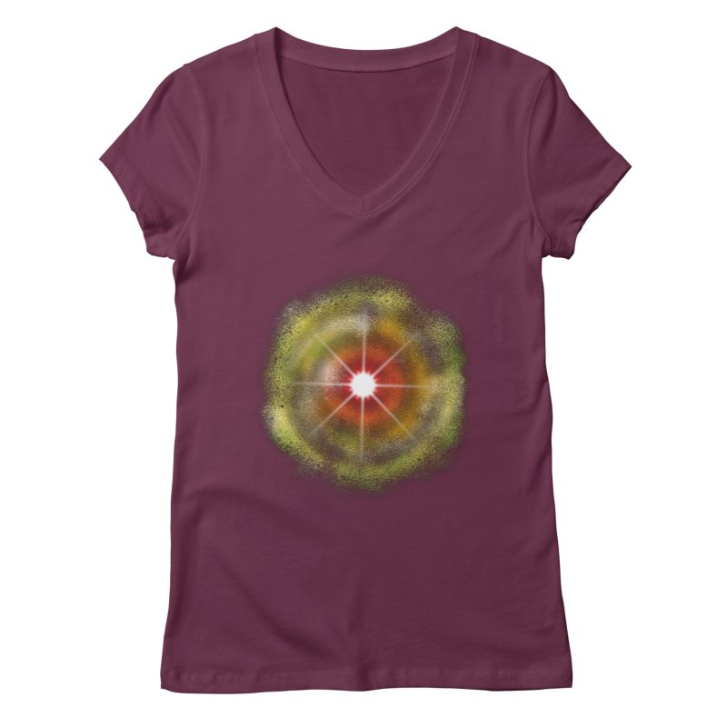 The Real Colour of Life Women's V-Neck by Vince N2