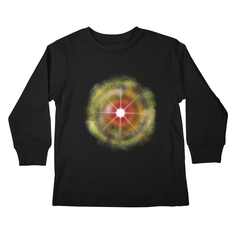 The Real Colour of Life Kids Longsleeve T-Shirt by Vince N2