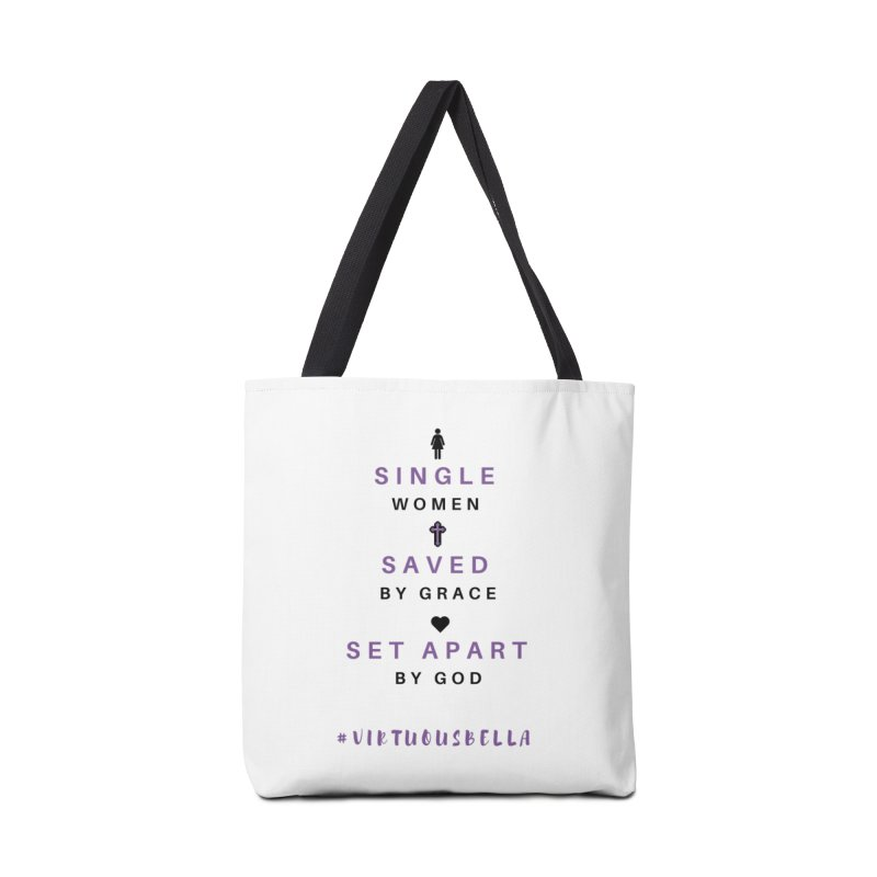 Single | Saved | Set Apart - Women's Clothing, Home and Accessories Accessories Bag by Virtuousbella Boutique