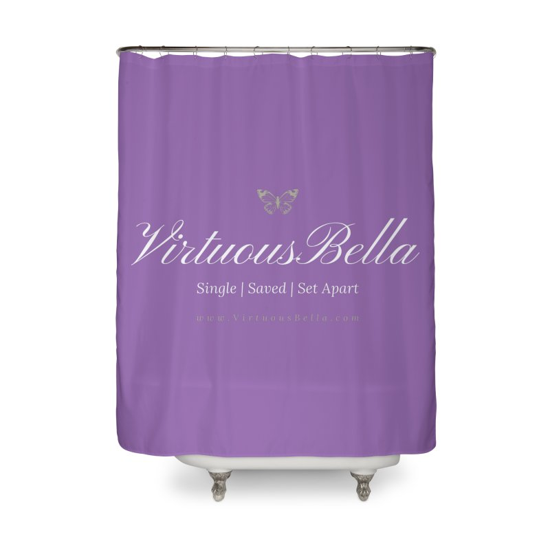VirtuousBella Home Shower Curtain by Living Virtuous Boutique